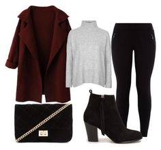 """""""Sin título #12"""" by m8padilla on Polyvore featuring moda, Topshop, Nly Shoes y Forever 21"""