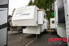 2003 Keystone  Challenger 32TKB for sale  - Portland, OR   RVT.com Classifieds 5th Wheels For Sale, Rv For Sale, 5th Wheel Rv, Ac Units, Fresh Water Tank, Black Water, Colorful Interiors, Recreational Vehicles, Trailers