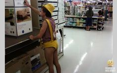 Relax and enjoy funny Walmart pictures, Walmart people photos and crazy people that are seen shopping at Walmart. Funny Walmart People, Walmart Shoppers, Go To Walmart, Only At Walmart, Stupid People, Crazy People, Strange People, Walmart Humor, Strange Things