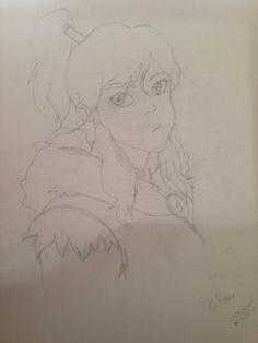 My Korra Drawing. I hope you like it!!!!!!
