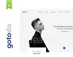 Ознакомьтесь с этим проектом @Behance: «Gotodo» https://www.behance.net/gallery/34003234/Gotodo
