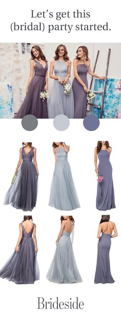 Let's get this (bridal) party started. https://brideside.com/?utm_campaign=bridesmaid&utm_source=pinterest&utm_medium=7.5p