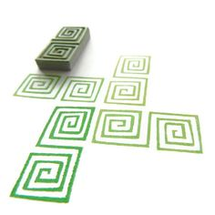 Hey, I found this really awesome Etsy listing at https://www.etsy.com/listing/76015941/tribal-square-spirals-pattern-stamp