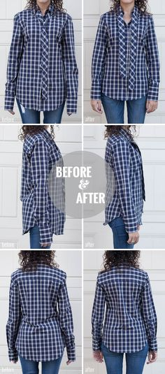 Adventures in Alterations – Tailoring Down a Dress Shirt