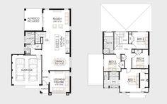 Diseño y planos de casas de dos pisos con ideas para construcción | Construye Hogar