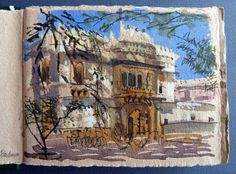 Felicity House, Entrance to Udai Bilas Palace