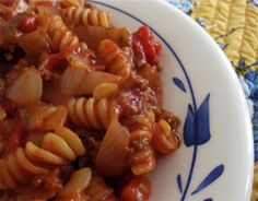 The Best and Most Delicious Easy Five Ingredient Recipes: Old Fashioned Skillet Goulash