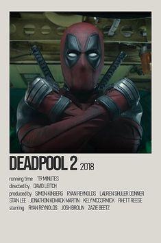 Dorm Posters, Movie Posters, Deadpool 2 Movie, Zazie Beetz, Josh Brolin, Ryan Reynolds, Minimalist Poster, Black Wallpaper, Marvel Movies