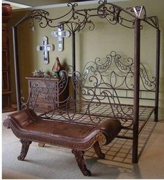 4 posters wrought iron bed your rustic furniture