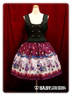 Alice and the Pirates - Twilight Circus JSK II /// ¥24,990 /// Bust:  90-101 Waist:  70-81 Length:  94