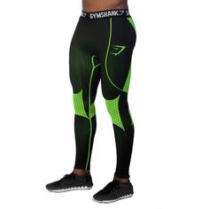 GymShark Hex Leggings - Harlequin All men's wear GymShark International Innovation In Fitness Wear Workout Attire, Workout Wear, Mens Fitness, Fitness Wear, Fitness Apparel, Running Pants, Running Wear, Combat Pants, Compression Pants