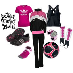 Soccer Girls Rock, created by gotpink84 on Polyvore