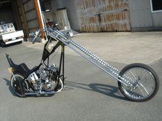 Shovel head 1340cc Harley Davidson Chopper 40 inch over front fork