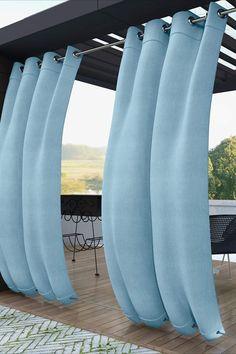 Outdoor Curtains, Outdoor Pergola, Outdoor Rooms, Backyard Patio, Backyard Landscaping, Outdoor Gardens, Gazebo, Outdoor Living, Porch Curtains