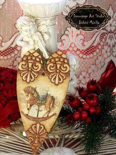 decoupage karácsonyi díszek 2014. 05