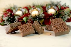 turrón chocolate trozos