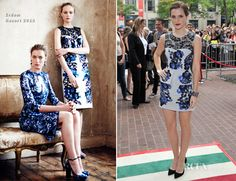 Emma Watson In Erdem - 'The Perk Of Being A Wallflower' Toronto Film Festival Premiere...it looks good shortened on Emma Watson!