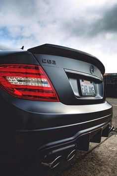 C63 AMG. Upgrade your life. Do you have CLOUT? www.clout.com