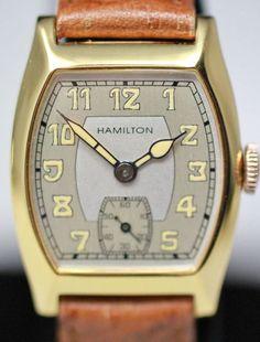 1934  Hamilton Grant Vintage Watch..
