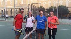 Equipazo CADU de #tenis de la UCV!! Compartimos la foto de MariadelMar Perez en los #entrenamientos del equipo de competición de la Universidad Católica de #Valencia. #AlumnosUCV #DeporteUCV #CompromisoUCV
