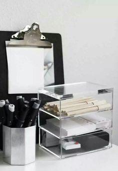 Organizadores para mesa de escritório, escrivaninha, canetas, decoração