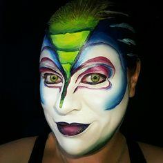 Cirque du Soleil facepaint