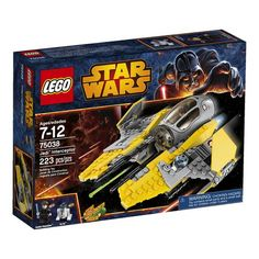 "Looking for great deals on ""LEGO Star Wars Jedi Interceptor Yellow""? Compare prices from the top online toy retailers. Save big when buying your favorite LEGO sets. Star Wars Jedi, Star Wars Rebels, Lego Star Wars, Toys R Us, Sith, Manual Lego, Legos, Monster High, Cheap Lego"