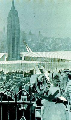 Superstudio – Monumento continuo, New New York 1969 – fotomontaggio – courtesy Superstudio