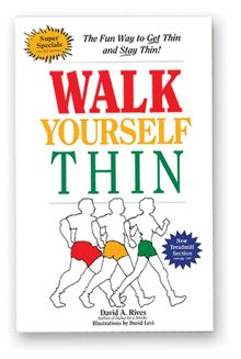 """""""Walk yourself Thin"""" Book by David Rives."""