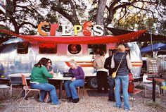 Austin crepes trailer