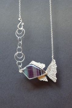 THE OCEAN INFLUENCES MY CREATIVE SPARK WITH IT'S FLUIDITY & CONSTANT CHANGING PRESENCE #necklace