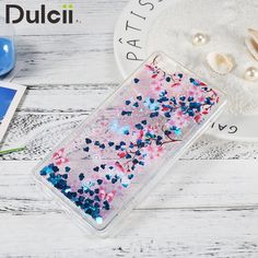 fundas capa for Huawei Ascend P 8 Lite TPU Back Cases Bling Quicksand Fluid Glitter Sequins TPU Case for Huawei Ascend P8 Lite