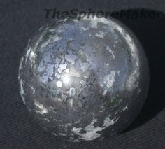 Native Silver Sphere
