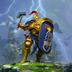 Age of Sigmar Art | Stormcast Eternals | http://wellofeternitypl.blogspot.com #artwork #art #aos #warhammer #40k #40000 #arts #artworks #gw #gamesworkshop #wellofeternity #wargaming