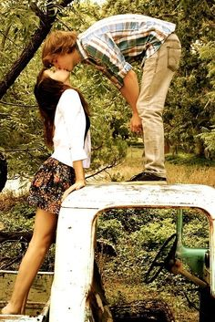 I so wish I had a old truck love this pose!!
