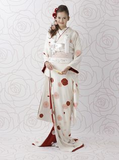 I Love Traditional Japanese Wedding Wear So Clean And Elegant