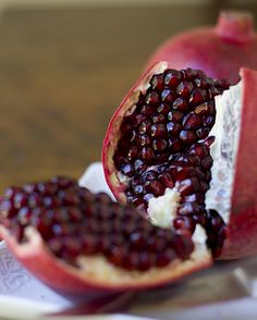 Pomegranate!  YUM!