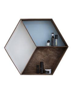 Wall Shelf Geometric – Wooddi Design & Interiors