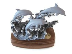 Vintage Westland Music Box Dolphin Music Box by PhotosPast on Etsy, $20.00