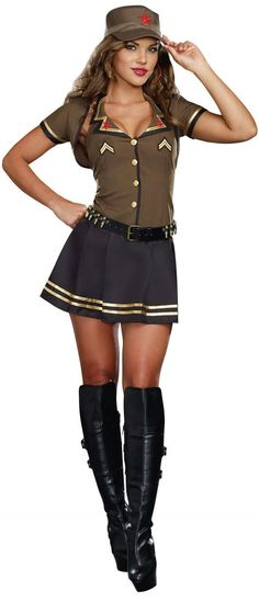 Adult Army Brat Costume from Buycostumes.com