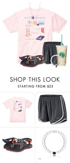 """Can't wait to go shopping here in Naples"" by flroasburn ❤ liked on Polyvore featuring NIKE, Chaco and BaubleBar"