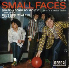 Small Faces, French EP. iTunes doesn't give you covers like this.