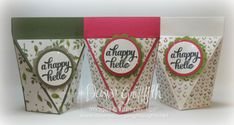 self closing box tutorial; dawns stamping thoughts