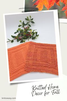 Knit So Easy quick & easy patterns = effortlessly cozy knitting. #KnittingPatterns #FallCrafts #Handknits Knitted Hats Kids, Knitted Baby Blankets, Kids Hats, Fall Home Decor, Autumn Home, Knitting Projects, Knitting Patterns, Knitting Ideas, Banner Elk