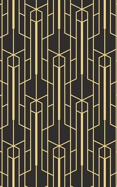 Instill a real Gatsby vibe in your home with these art deco wallpapers and create a space of true jazz flair. The art deco wall art murals are luxurious and moody, allowing you to create a perfectly complete art deco interior. The art deco walls inj Wallpaper Art Deco, Geometric Wallpaper Murals, Wallpaper Furniture, Luxury Wallpaper, Contemporary Wallpaper, Wallpaper Designs, Beautiful Wallpaper, Custom Wallpaper, Geometric Designs