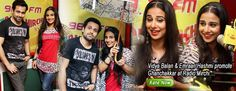 Vidya Balan & Emraan Hashmi promote Ghanchakkar at Radio Mirchi