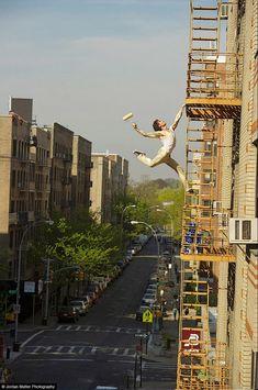 See this image of New York, NY - Luke McCollum in @Jordan Matter's Circus Among Us