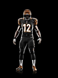 The new Cincinnati Bengals uniforms by Nike.