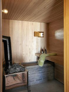 Sauna, every Finnish house should have one!