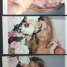 Outtakes of Marloes Horst for Stella McCartney Lingerie F/W 2013